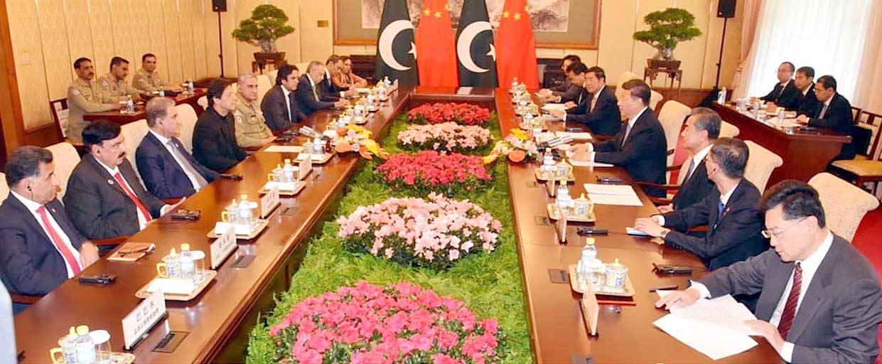PM meeting with Chinese President